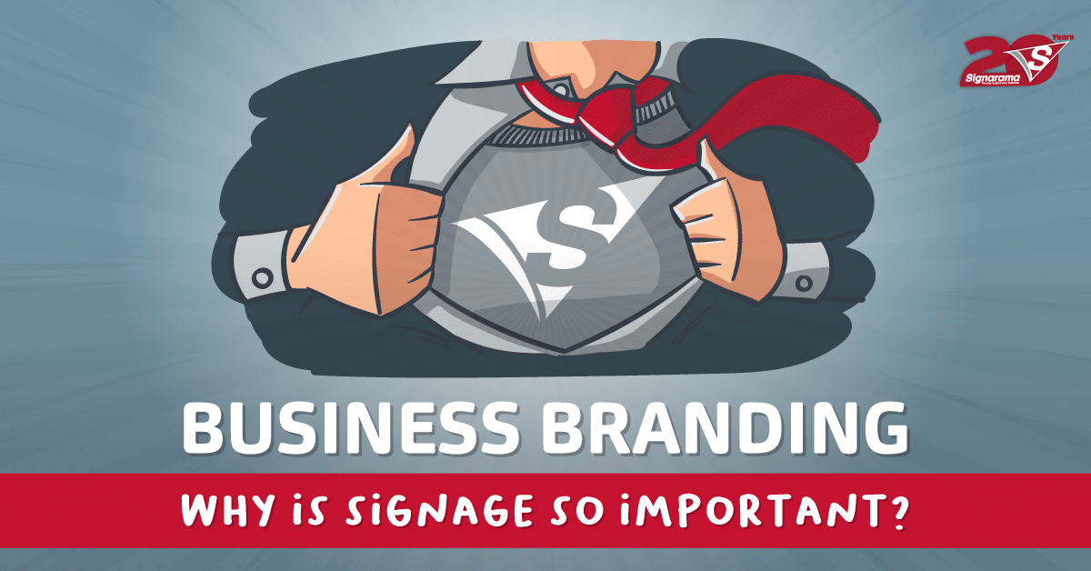 Why partner with Signarama for all your branding and signage needs?